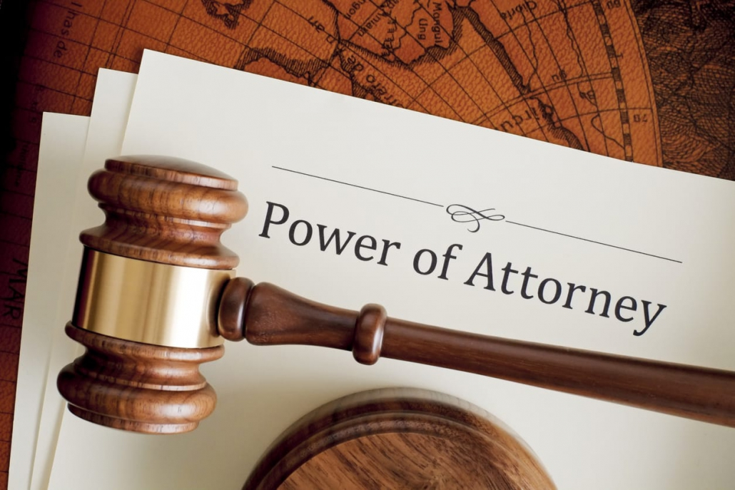 A word on power of attorney